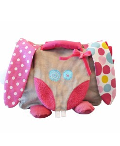 Sac cartable rose pour fille