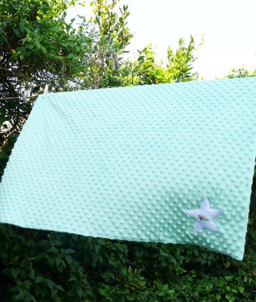 couverture panda mint