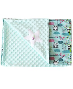 couverture panda mint simple délo anak redim