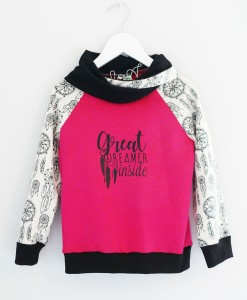 sweat attrapes rêves fuchsia redim
