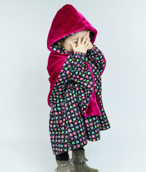 Cape fille mode enfant délo Anak redim